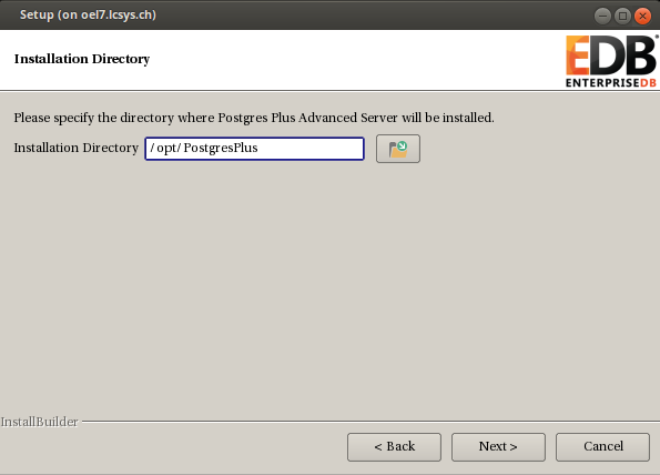 getting started with postgres plus advanced server (1